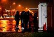 21 February 2020; Cork City supporters queue to purchase tickets prior to the SSE Airtricity League Premier Division match between Shamrock Rovers and Cork City at Tallaght Stadium in Dublin. Photo by Stephen McCarthy/Sportsfile