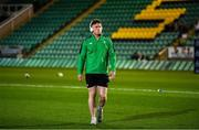 21 February 2020; Bobby Sheehan of Ireland walks the pitch prior to the Six Nations U20 Rugby Championship match between England and Ireland at Franklin's Gardens in Northampton, England. Photo by Brendan Moran/Sportsfile