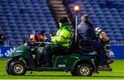21 February 2020; Finlay Bealham of Connacht leaves the field after receiving an injury during the Guinness PRO14 Round 12 match between Edinburgh and Connacht at BT Murrayfield in Edinburgh, Scotland. Photo by Paul Devlin/Sportsfile