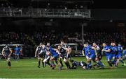 21 February 2020; Scott Penny of Leinster makes a break during the Guinness PRO14 Round 12 match between Ospreys and Leinster at The Gnoll in Neath, Wales. Photo by Ramsey Cardy/Sportsfile
