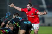 21 February 2020; James Cronin of Munster during the Guinness PRO14 Round 12 match between Zebre and Munster at Stadio Sergio Lanfranchi in Parma, Italy. Photo by Roberto Bregani/Sportsfile