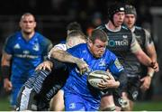 21 February 2020; Seán Cronin of Leinster is tackled by Kieran Williams of Ospreys during the Guinness PRO14 Round 12 match between Ospreys and Leinster at The Gnoll in Neath, Wales. Photo by Ramsey Cardy/Sportsfile