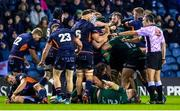 21 February 2020; Edinburgh and Connacht clash during the Guinness PRO14 Round 12 match between Edinburgh and Connacht at BT Murrayfield in Edinburgh, Scotland. Photo by Paul Devlin/Sportsfile