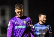 21 February 2020; Brian Maher of Bray Wanderers following his side's defeat during the SSE Airtricity League First Division match between Cabinteely and Bray Wanderers at Stradbrook Road in Blackrock, Dublin. Photo by Seb Daly/Sportsfile