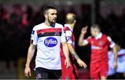 21 February 2020; Michael Duffy of Dundalk during the SSE Airtricity League Premier Division match between Shelbourne and Dundalk at Tolka Park in Dublin. Photo by Eóin Noonan/Sportsfile