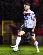 21 February 2020; Andy Boyle of Dundalk during the SSE Airtricity League Premier Division match between Shelbourne and Dundalk at Tolka Park in Dublin. Photo by Eóin Noonan/Sportsfile