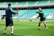 22 February 2020; Rónan Kelleher during the Ireland Rugby Captain's Run at Twickenham Stadium in London, England. Photo by Ramsey Cardy/Sportsfile