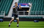 22 February 2020; Josh van der Flier during the Ireland Rugby Captain's Run at Twickenham Stadium in London, England. Photo by Brendan Moran/Sportsfile