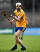 16 February 2020; Jack Browne of Clare during the Allianz Hurling League Division 1 Group B Round 3 match between Clare and Laois at Cusack Park in Ennis, Clare. Photo by Eóin Noonan/Sportsfile