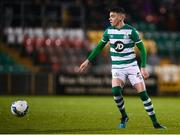 21 February 2020; Gary O'Neill of Shamrock Rovers during the SSE Airtricity League Premier Division match between Shamrock Rovers and Cork City at Tallaght Stadium in Dublin. Photo by Stephen McCarthy/Sportsfile