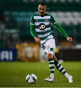 21 February 2020; Graham Burke of Shamrock Rovers during the SSE Airtricity League Premier Division match between Shamrock Rovers and Cork City at Tallaght Stadium in Dublin. Photo by Stephen McCarthy/Sportsfile