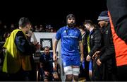 21 February 2020; Scott Fardy of Leinster during the Guinness PRO14 Round 12 match between Ospreys and Leinster at The Gnoll in Neath, Wales. Photo by Ramsey Cardy/Sportsfile