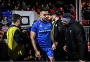 21 February 2020; Cian Kelleher of Leinster during the Guinness PRO14 Round 12 match between Ospreys and Leinster at The Gnoll in Neath, Wales. Photo by Ramsey Cardy/Sportsfile