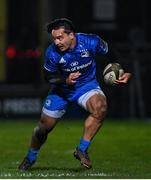 21 February 2020; James Lowe of Leinster during the Guinness PRO14 Round 12 match between Ospreys and Leinster at The Gnoll in Neath, Wales. Photo by Ramsey Cardy/Sportsfile