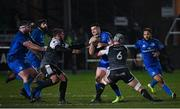 21 February 2020; Cian Kelleher of Leinster and Dan Lydiate of Ospreys during the Guinness PRO14 Round 12 match between Ospreys and Leinster at The Gnoll in Neath, Wales. Photo by Ramsey Cardy/Sportsfile
