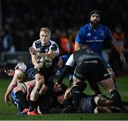 21 February 2020; Aled Daviesof Ospreys during the Guinness PRO14 Round 12 match between Ospreys and Leinster at The Gnoll in Neath, Wales. Photo by Ramsey Cardy/Sportsfile