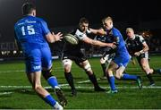 21 February 2020; Tommy O'Brien of Leinster during the Guinness PRO14 Round 12 match between Ospreys and Leinster at The Gnoll in Neath, Wales. Photo by Ramsey Cardy/Sportsfile