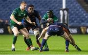 21 February 2020; Niyi Adeolokun of Connacht during the Guinness PRO14 Round 12 match between Edinburgh and Connacht at BT Murrayfield in Edinburgh, Scotland. Photo by Paul Devlin/Sportsfile