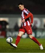 21 February 2020; Johnny Dunleavy of Sligo Rovers during the SSE Airtricity League Premier Division match between Sligo Rovers and St. Patrick's Athletic at The Showgrounds in Sligo. Photo by Ben McShane/Sportsfile