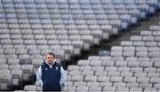 22 February 2020; Wexford manager Davy Fitzgerald prior to the Allianz Hurling League Division 1 Group B Round 4 match between Dublin and Wexford at Croke Park in Dublin. Photo by Eóin Noonan/Sportsfile