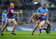 22 February 2020; Aidan Rochford of Wexford is tackled by Chris Crummey of Dublin during the Allianz Hurling League Division 1 Group B Round 4 match between Dublin and Wexford at Croke Park in Dublin. Photo by Eóin Noonan/Sportsfile