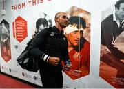 22 February 2020; Ruan Pienaar of Toyota Cheetahs arrives ahead of the Guinness PRO14 Round 12 match between Ulster and Toyota Cheetahs at Kingspan Stadium in Belfast.  Photo by Oliver McVeigh/Sportsfile