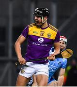 22 February 2020; Jack O'Connor of Wexford celebrates after scoring his side's second goal during the Allianz Hurling League Division 1 Group B Round 4 match between Dublin and Wexford at Croke Park in Dublin. Photo by Sam Barnes/Sportsfile