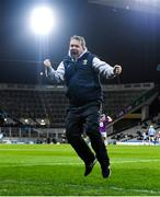 22 February 2020; Wexford manager Davy Fitzgerald celebrates his side scoring a late goal during the Allianz Hurling League Division 1 Group B Round 4 match between Dublin and Wexford at Croke Park in Dublin. Photo by Eóin Noonan/Sportsfile