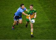 22 February 2020; Caolan Ward of Donegal in action against Kevin McManamon of Dublin during the Allianz Football League Division 1 Round 4 match between Dublin and Donegal at Croke Park in Dublin. Photo by Harry Murphy/Sportsfile