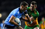 22 February 2020; Paul Mannion of Dublin is tackled by Eoghan Bán Gallagher of Donegal during the Allianz Football League Division 1 Round 4 match between Dublin and Donegal at Croke Park in Dublin. Photo by Eóin Noonan/Sportsfile