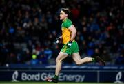 22 February 2020; Hugh McFadden of Donegal after scoring his side's first goal during the Allianz Football League Division 1 Round 4 match between Dublin and Donegal at Croke Park in Dublin. Photo by Sam Barnes/Sportsfile