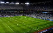 22 February 2020; A General view of every Dublin out field player in the Dublin half of the pitch during the Allianz Football League Division 1 Round 4 match between Dublin and Donegal at Croke Park in Dublin. Photo by Harry Murphy/Sportsfile