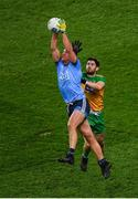 22 February 2020; Ciarán Kilkenny of Dublin in action against Ryan McHugh of Donegal during the Allianz Football League Division 1 Round 4 match between Dublin and Donegal at Croke Park in Dublin. Photo by Harry Murphy/Sportsfile