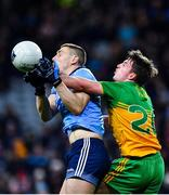 22 February 2020; John Small of Dublin in action against Peadar Mogan of Donegal during the Allianz Football League Division 1 Round 4 match between Dublin and Donegal at Croke Park in Dublin. Photo by Eóin Noonan/Sportsfile
