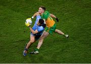 22 February 2020; Kevin McManamon of Dublin in action against Ciarán Thompson of Donegal during the Allianz Football League Division 1 Round 4 match between Dublin and Donegal at Croke Park in Dublin. Photo by Harry Murphy/Sportsfile