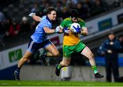 22 February 2020; Ryan McHugh of Donegal in action against Michael Fitzsimons of Dublin during the Allianz Football League Division 1 Round 4 match between Dublin and Donegal at Croke Park in Dublin. Photo by Sam Barnes/Sportsfile