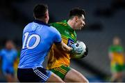 22 February 2020; Jamie Brennan of Donegal in action against Brian Howard of Dublin during the Allianz Football League Division 1 Round 4 match between Dublin and Donegal at Croke Park in Dublin. Photo by Sam Barnes/Sportsfile