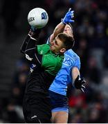 22 February 2020; Dean Rock of Dublin in action against Shaun Patton of Donegal during the Allianz Football League Division 1 Round 4 match between Dublin and Donegal at Croke Park in Dublin. Photo by Eóin Noonan/Sportsfile