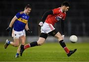 22 February 2020; Luke Connolly of Cork gets past Bill Maher of Tipperary during the Allianz Football League Division 3 Round 4 match between Tipperary and Cork at Semple Stadium in Thurles, Tipperary. Photo by Piaras Ó Mídheach/Sportsfile