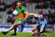 22 February 2020; Michael Murphy of Donegal in action against John Small of Dublin during the Allianz Football League Division 1 Round 4 match between Dublin and Donegal at Croke Park in Dublin. Photo by Eóin Noonan/Sportsfile