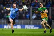 22 February 2020; Ciarán Kilkenny of Dublin in action against Caolan Ward of Donegal during the Allianz Football League Division 1 Round 4 match between Dublin and Donegal at Croke Park in Dublin. Photo by Eóin Noonan/Sportsfile