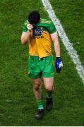 22 February 2020; Ryan McHugh of Donegal reacts at full-time following the Allianz Football League Division 1 Round 4 match between Dublin and Donegal at Croke Park in Dublin. Photo by Harry Murphy/Sportsfile