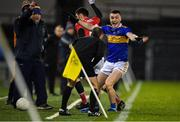 22 February 2020; Tadhg Fitzgerald of Tipperary looks to be awarded a sideline kick during the Allianz Football League Division 3 Round 4 match between Tipperary and Cork at Semple Stadium in Thurles, Tipperary. Photo by Piaras Ó Mídheach/Sportsfile