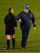 22 February 2020; Tipperary manager David Power with referee Brendan Cawley before the Allianz Football League Division 3 Round 4 match between Tipperary and Cork at Semple Stadium in Thurles, Tipperary. Photo by Piaras Ó Mídheach/Sportsfile