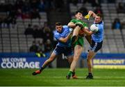 22 February 2020; Michael Langan of Donegal in action against Brian Howard, left, and Ciarán Kilkenny of Dublin during the Allianz Football League Division 1 Round 4 match between Dublin and Donegal at Croke Park in Dublin. Photo by Sam Barnes/Sportsfile