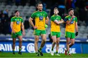 22 February 2020; Donegal players, including Neil McGee, centre, dejected following the Allianz Football League Division 1 Round 4 match between Dublin and Donegal at Croke Park in Dublin. Photo by Sam Barnes/Sportsfile