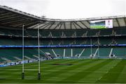 23 February 2020; A general view of Twickenham Stadium ahead of the Guinness Six Nations Rugby Championship match between England and Ireland at Twickenham Stadium in London, England. Photo by Ramsey Cardy/Sportsfile
