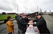 23 February 2020; Patrons purchase refreshments prior to the Allianz Football League Division 1 Round 4 match between Galway and Tyrone at Tuam Stadium in Tuam, Galway.  Photo by David Fitzgerald/Sportsfile