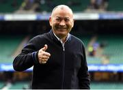23 February 2020; England head coach Eddie Jones looks on prior to the Guinness Six Nations Rugby Championship match between England and Ireland at Twickenham Stadium in London, England. Photo by Ramsey Cardy/Sportsfile Photo by Ramsey Cardy/Sportsfile