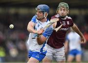 23 February 2020; Patrick Curran of Waterford in action against Brian Concannon of Galway during the Allianz Hurling League Division 1 Group A Round 4 match between Waterford and Galway at Walsh Park in Waterford. Photo by Seb Daly/Sportsfile